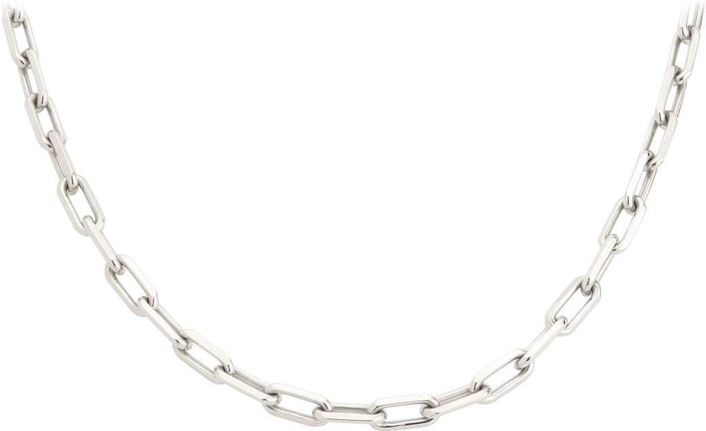 Santos de Cartier necklaceWhite gold
