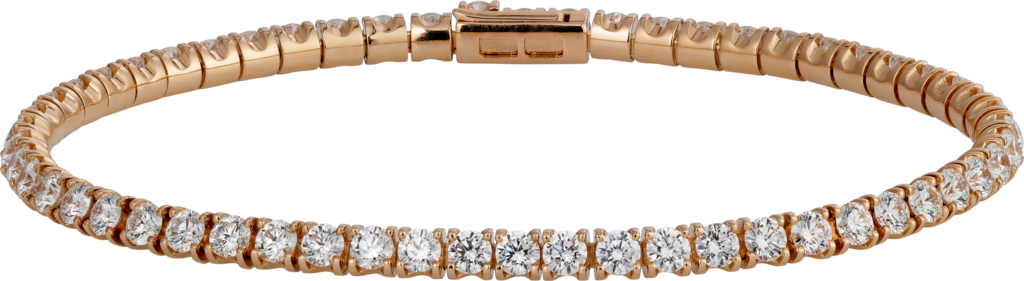 Essential Lines braceletRose gold, diamonds